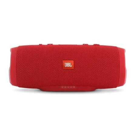 Alto-falante JBL Charge 3 portátil com bluetooth red