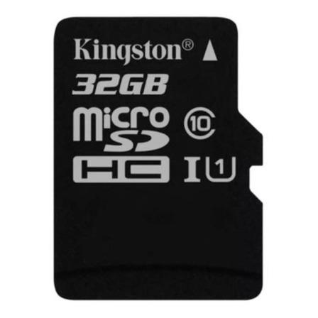 Cartão de memória Kingston SDC10 com adaptador SD 32GB