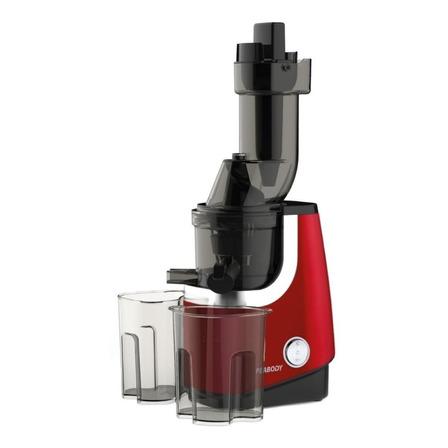 Juguera eléctrica Peabody PE-SJ45 Slow Juicer roja 220V con accesorios