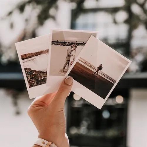 Revelação De 50 Fotos Polaroid +6 Fotos Brindes Frete Grátis