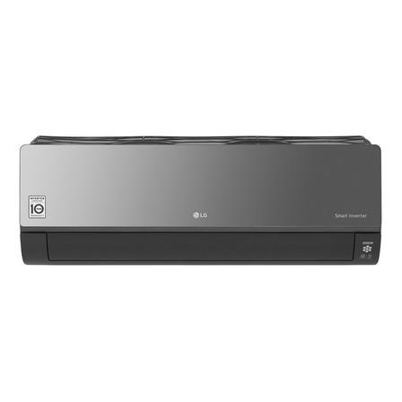 Aire acondicionado LG Art Cool Inverter ThinQ split frío/calor 5547 frigorías negro 220V S4-W24KERP0