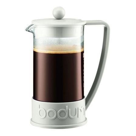 Cafetera Bodum Brazil 10938 manual blanca prensa francesa