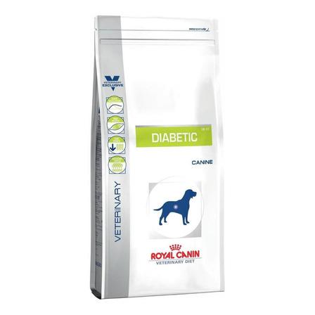 Alimento Royal Canin Veterinary Diet Canine Diabetic para cachorro adulto todos os tamanhos sabor mix em saco de 1.5kg
