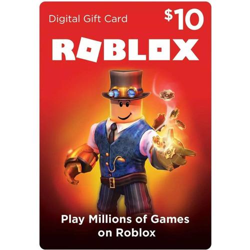 Tarjeta De Regalo Roblox 10 Usd 800 Robux Entrega Digital