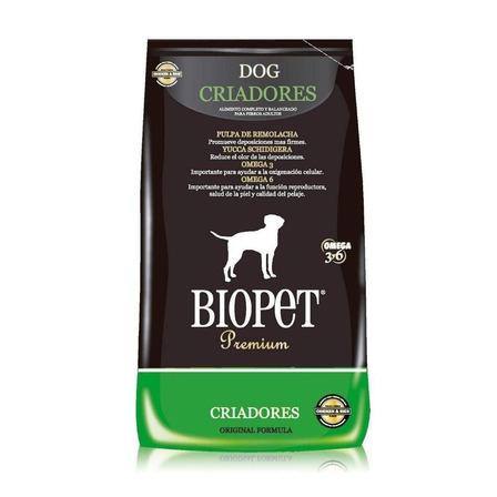 Alimento Biopet Premium Criadores perro adulto todos los tamaños pollo/arroz 20kg