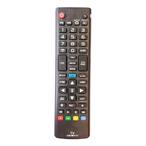 Control Remoto Tv LG Smart Modelos 2013-2019 + Forro + Pilas