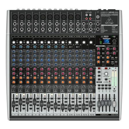 Consola Behringer X2442USB Xenyx de mezcla 100V/240V