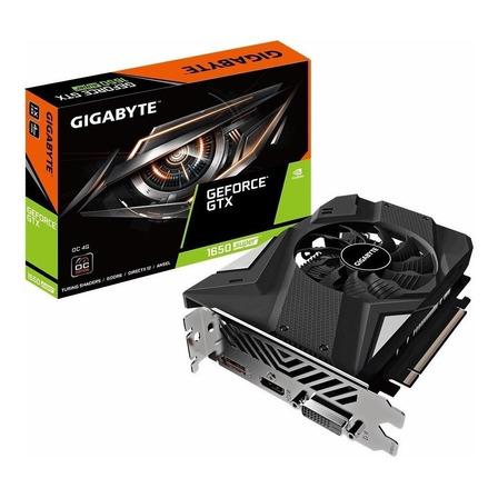 Placa de vídeo Nvidia Gigabyte  GeForce GTX 16 Series GTX 1650 SUPER GV-N165SOC-4GD OC Edition 4GB