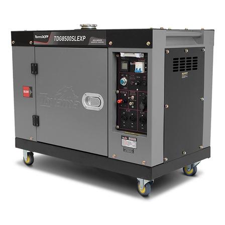 Gerador portátil Toyama TDG8500SLEXP-ATS Ready 7 kW monofásico com tecnologia AVR 115V/230V