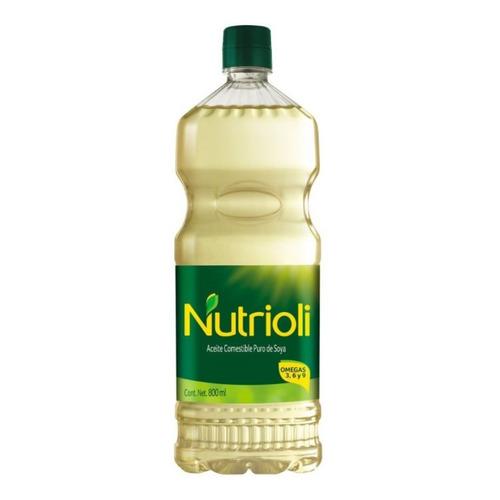 Aceite Nutrioli Puro De Soya 800 Ml
