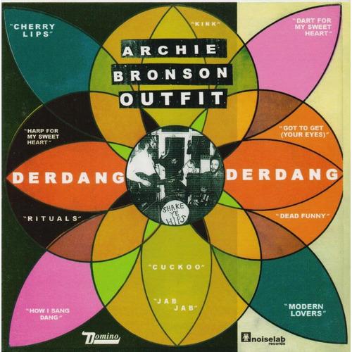 Derdang Derdang -  Archie Bronson Outfit - Disco Cd - Nuevo