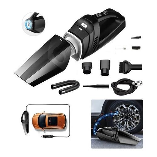 Aspiradora De Auto Multifunción 4n1 12v Cable Xl C/ Inflador