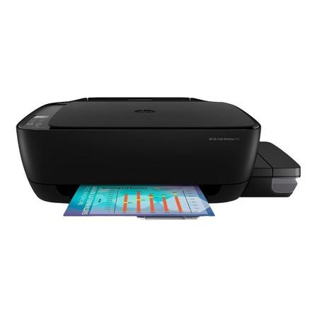 Impressora a cor multifuncional HP Ink Tank Wireless 416 com wifi preta 100V/240V