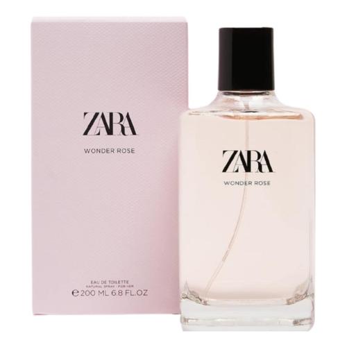 Zara Wonder Rose Edt 200 Ml (6.8 Fl.oz)