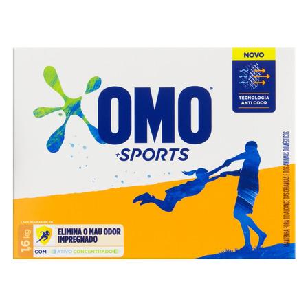Sabão em pó Omo Sports caixa 1.6kg