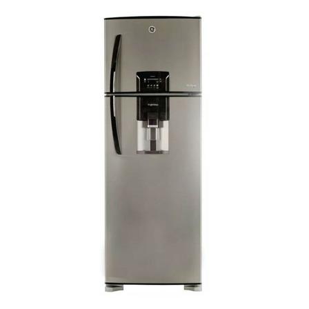 Heladera inverter no frost GE Appliances HGE455M  metálica con freezer 424L 220V