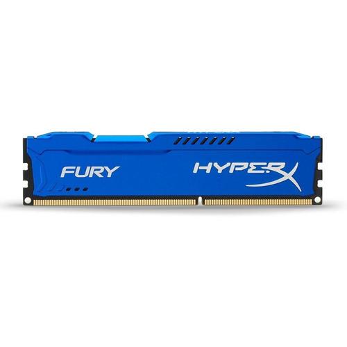 Memória RAM Fury DDR3 color Azul  8GB 1 HyperX HX316C10F/8