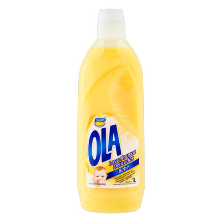Sabão líquido Ola Roupas Delicadas Bebê frasco 1 L