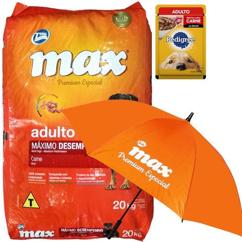 Comida Adulto Max Maximo Desempeño 20 Kg + Regalo + Envío