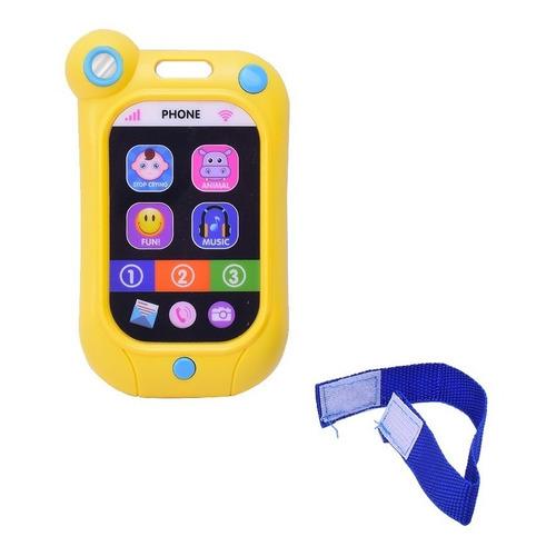 Celular Infantil Didactico Con Sonidos Y Luz El Duende Azul