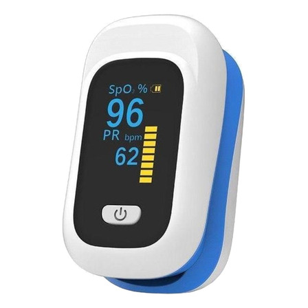 Oxímetro de pulso para dedo Yonker YK-80C azul