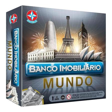 Jogo de mesa Banco Imobiliário Mundo Estrela