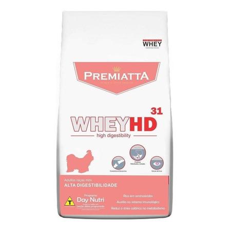Alimento Premiatta Whey HD 31 para cachorro adulto de raça mini sabor mix em saco de 3kg