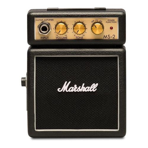 Amplificador Marshall Micro Amp MS-2 Transistor para guitarra de 1W color negro