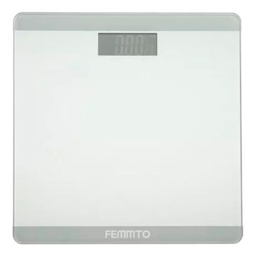 Balanza Digital Femmto B01 Blanca, Hasta 180 Kg