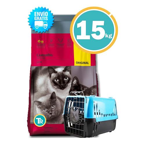 Ración Gato Castrado Threecats Original + Regalo Y E. Gratis