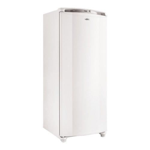 Freezer vertical Whirlpool WVU27 blanco 231L 220V