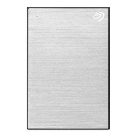 Disco duro externo Seagate Backup Plus Slim STHN2000401 2TB plata