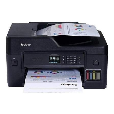 Impressora a cor multifuncional Brother MFC-T4 Series MFC-T4500DW com wifi 110V preta