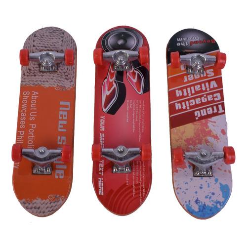 Mini Skate Patineta De Mano X 3 Finger Street Sesh
