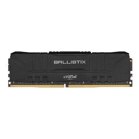 Memória RAM Ballistix color Preto  8GB 1x8GB Crucial BL8G30C15U4B