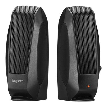 Bocina Logitech S120 black