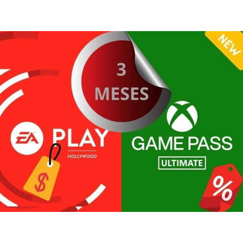 Game Pass Ultimate 3 Meses +ea Play