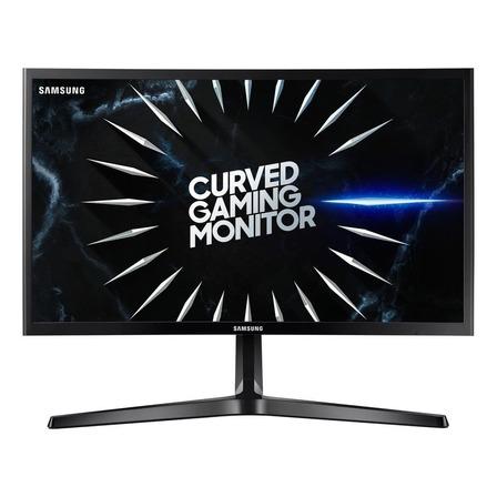 """Monitor gamer curvo Samsung Odyssey C24RG5 led 24"""" preto 100V/240V"""
