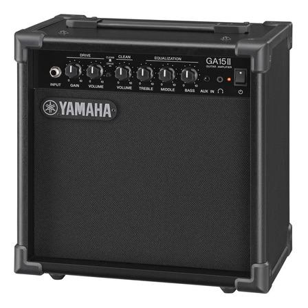 Amplificador Yamaha GA Series GA-15 para guitarra de 15W color negro 127V
