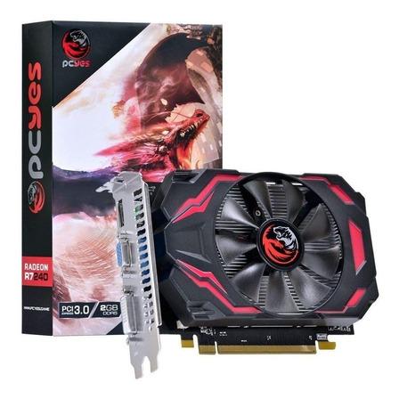 Placa de vídeo AMD Pcyes  Radeon R7 200 Series R7 240 PJ240R712802D5 Gaming Edition 2GB