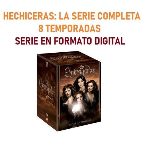 Charmed Hechiceras Serie Completa Español Latino