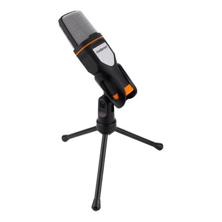 Micrófono Redlemon 69765 condensador omnidireccional negro