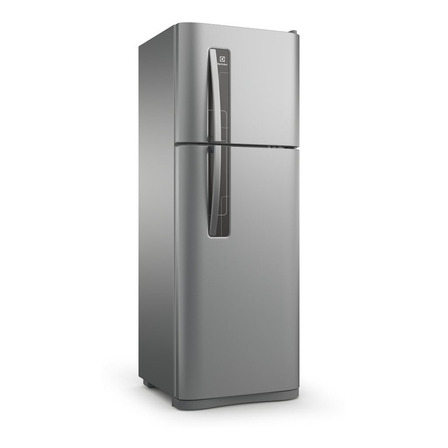 Heladera no frost Electrolux DFN3500  plata con freezer 303L 220V