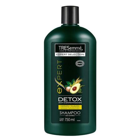 Shampoo  TRESemmé Detox Anti Contaminación Aceite de Aguacate 750ml