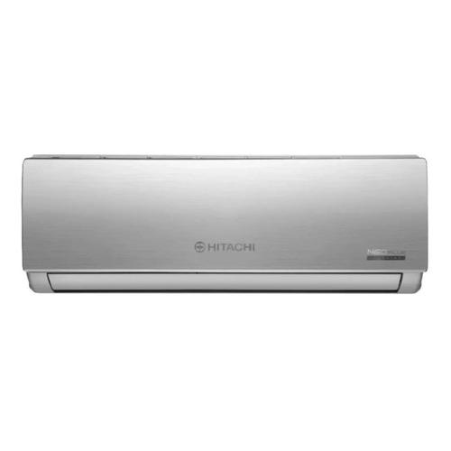 Aire Acondicionado Hitachi Neo Plus Split Inverter Frío/calor 2838 Frigorías Plateado 220v Hsam3300