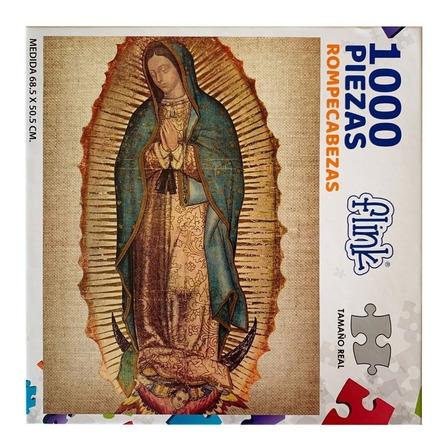 Rompecabezas Flink Virgen de Guadalupe de 1000 piezas