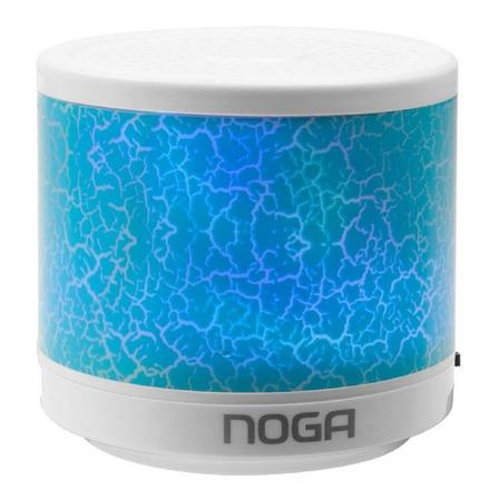 Parlante Noga Go! NGS-310 portátil con bluetooth azul
