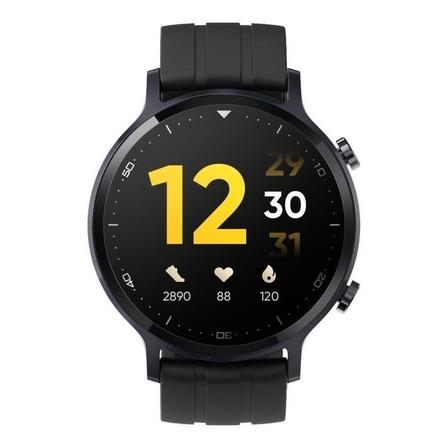 """Smartwatch Realme Watch S 1.3"""" caja de  aleación de aluminio  black malla  black de  silicona y bisel  black RMA207"""