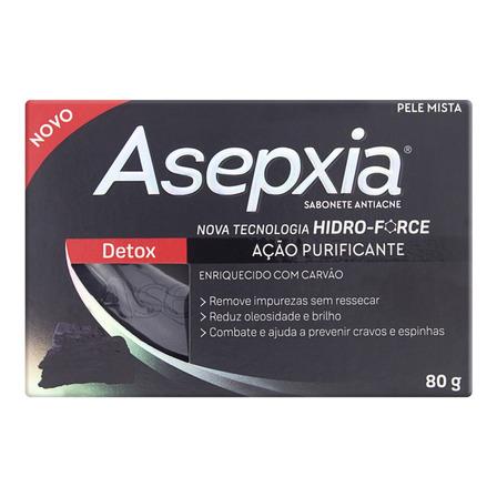 Sabonete Barra Detox Asepxia Caixa 80g