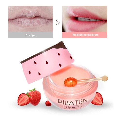 Crema Hidratante Reparadora Labios Vitamina E Colágeno